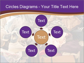 Pile of misc items PowerPoint Template - Slide 78