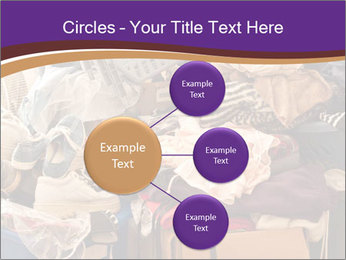 Pile of misc items PowerPoint Template - Slide 79