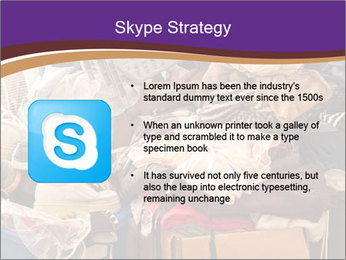 Pile of misc items PowerPoint Template - Slide 8