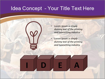 Pile of misc items PowerPoint Template - Slide 80