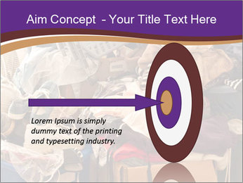 Pile of misc items PowerPoint Template - Slide 83
