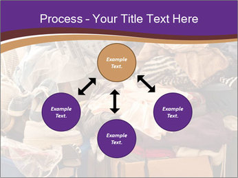 Pile of misc items PowerPoint Template - Slide 91