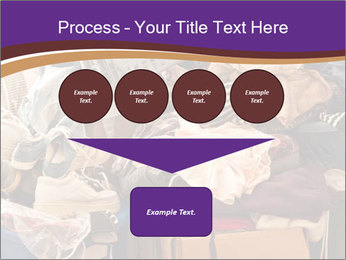 Pile of misc items PowerPoint Template - Slide 93