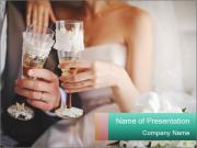 Bride and groom PowerPoint Templates