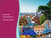 Park Guell PowerPoint Template