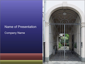 Gateway PowerPoint Templates - Slide 1