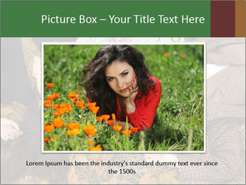 Three girls PowerPoint Template - Slide 16