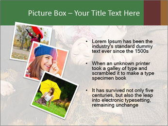 Three girls PowerPoint Template - Slide 17
