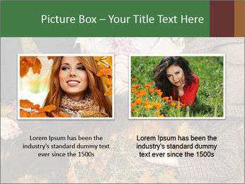 Three girls PowerPoint Template - Slide 18
