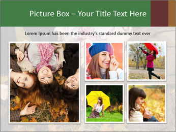 Three girls PowerPoint Template - Slide 19