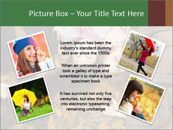 Three girls PowerPoint Template - Slide 24