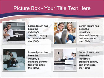 Relaxed young couple PowerPoint Template - Slide 14