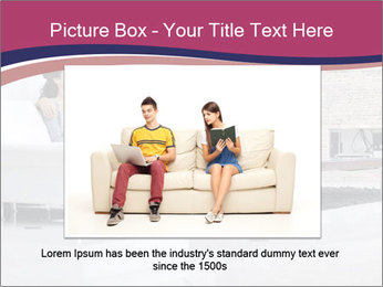 Relaxed young couple PowerPoint Template - Slide 15