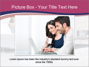 Relaxed young couple PowerPoint Template - Slide 16