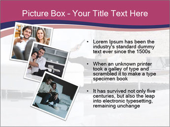 Relaxed young couple PowerPoint Template - Slide 17