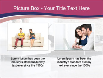 Relaxed young couple PowerPoint Template - Slide 18