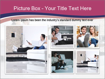 Relaxed young couple PowerPoint Template - Slide 19