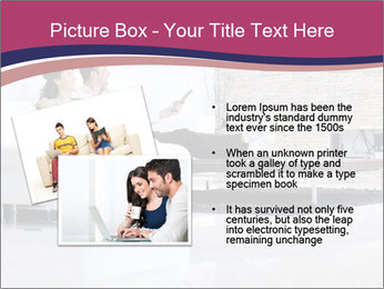 Relaxed young couple PowerPoint Template - Slide 20