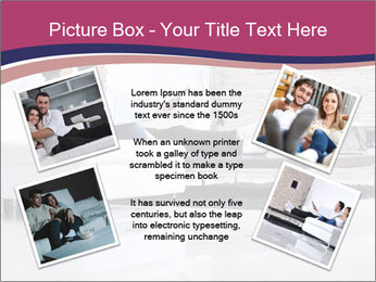 Relaxed young couple PowerPoint Template - Slide 24