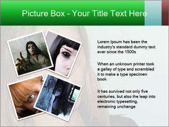 Young girl teenager PowerPoint Templates - Slide 23