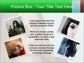 Young girl teenager PowerPoint Templates - Slide 24