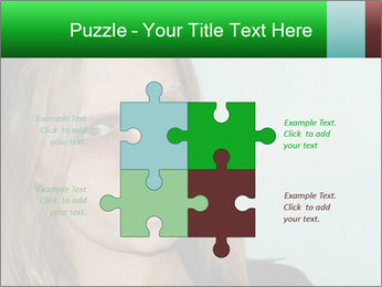 Young girl teenager PowerPoint Templates - Slide 43