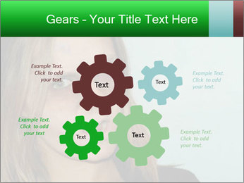 Young girl teenager PowerPoint Templates - Slide 47