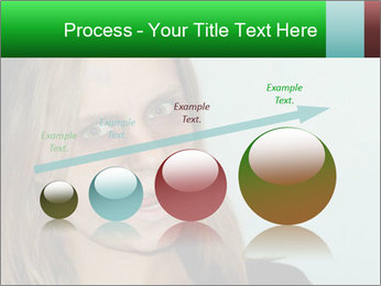 Young girl teenager PowerPoint Templates - Slide 87