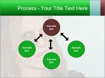 Young girl teenager PowerPoint Templates - Slide 91