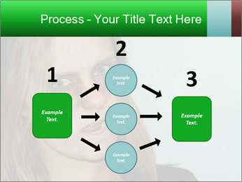 Young girl teenager PowerPoint Templates - Slide 92