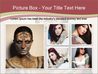 Sexy tiger PowerPoint Template - Slide 19