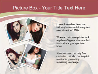 Sexy tiger PowerPoint Template - Slide 23