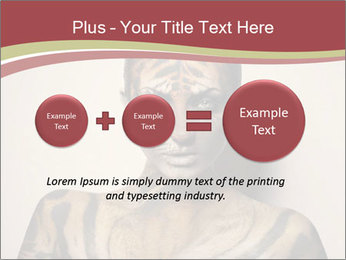 Sexy tiger PowerPoint Template - Slide 75
