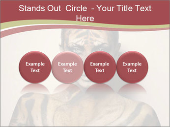 Sexy tiger PowerPoint Template - Slide 76