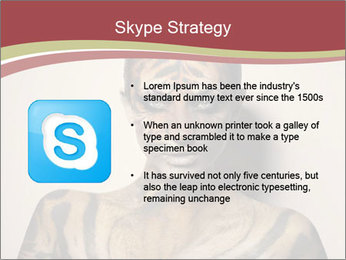 Sexy tiger PowerPoint Template - Slide 8