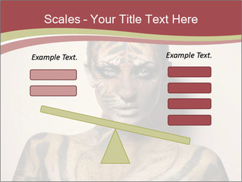 Sexy tiger PowerPoint Template - Slide 89