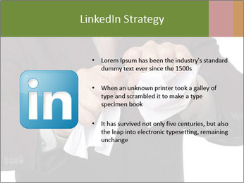 Angry businessman PowerPoint Template - Slide 12