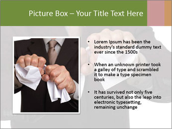 Angry businessman PowerPoint Template - Slide 13
