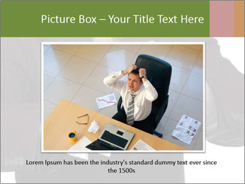 Angry businessman PowerPoint Template - Slide 15