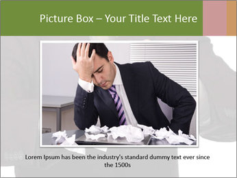 Angry businessman PowerPoint Template - Slide 16
