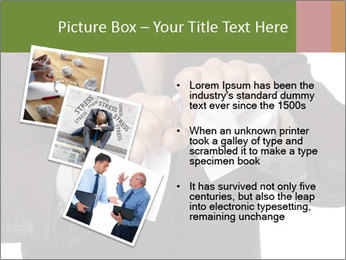 Angry businessman PowerPoint Template - Slide 17