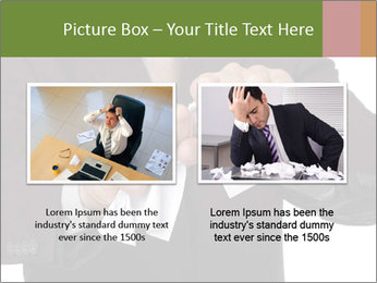 Angry businessman PowerPoint Template - Slide 18