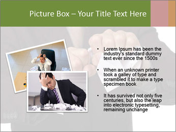 Angry businessman PowerPoint Template - Slide 20