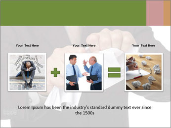 Angry businessman PowerPoint Template - Slide 22
