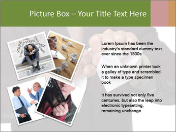 Angry businessman PowerPoint Template - Slide 23
