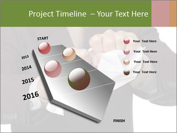 Angry businessman PowerPoint Template - Slide 26