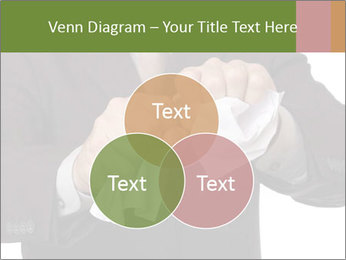 Angry businessman PowerPoint Template - Slide 33