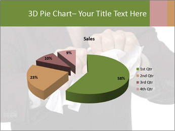 Angry businessman PowerPoint Template - Slide 35