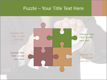 Angry businessman PowerPoint Template - Slide 43