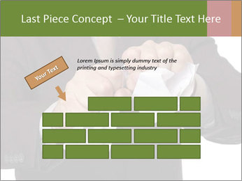 Angry businessman PowerPoint Template - Slide 46